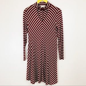 Altar'd State Stripe Cutout Dress